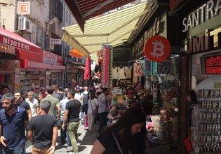 Kapalı Çarşı'da Bitcoin dönemi başladı