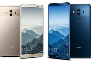 Huawei Mate 10 ve Mate 10 Pro duvar kağıtları