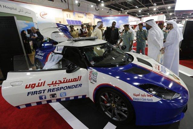 İşte bu da Dubai'nin saatte 300 km hız yapabilen ambulansı