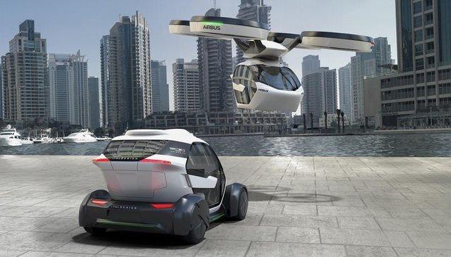 Airbus'dan yeni uçan otomobil konsepti: Pop.Up