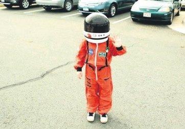Galaksinin 9 yaşındaki koruyucusu!