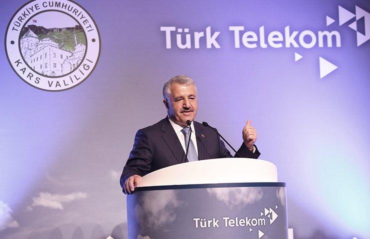 BAKAN ARSLAN'DAN UCUZ İNTERNET MÜJDESİ!