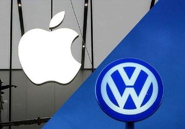 Apple ile Volkswagen sürücüsüz otomobil konusunda anlaştı