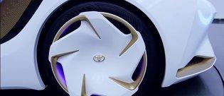 CES 2017: Büyüleyici konsept otomobil Toyota Concept-i (:60) tanıtıldı
