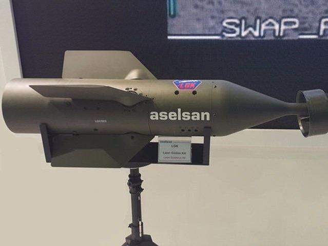 ASELSAN'ın geliştirdiği lazer güdüm kitleri (LGK) teslim edildi