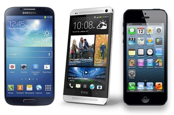 iPhone 5S, Galaxy S4 ve HTC One'da hangi sorunlar var?