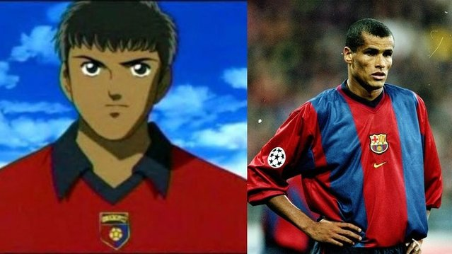 Tsubasa karakterlerinin esinlendiği futbolcular