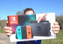 Nintendo Switch düşme testinde