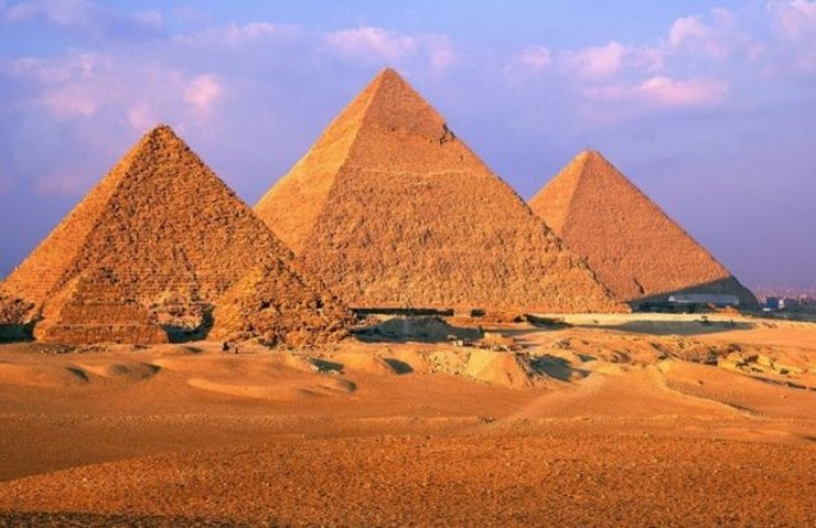 MISIR'DA 3 BİN 700 YILLIK PİRAMİT KALINTILARI KEŞFEDİLDİ