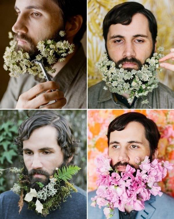 İşte yeni akım: Çiçek sakallar