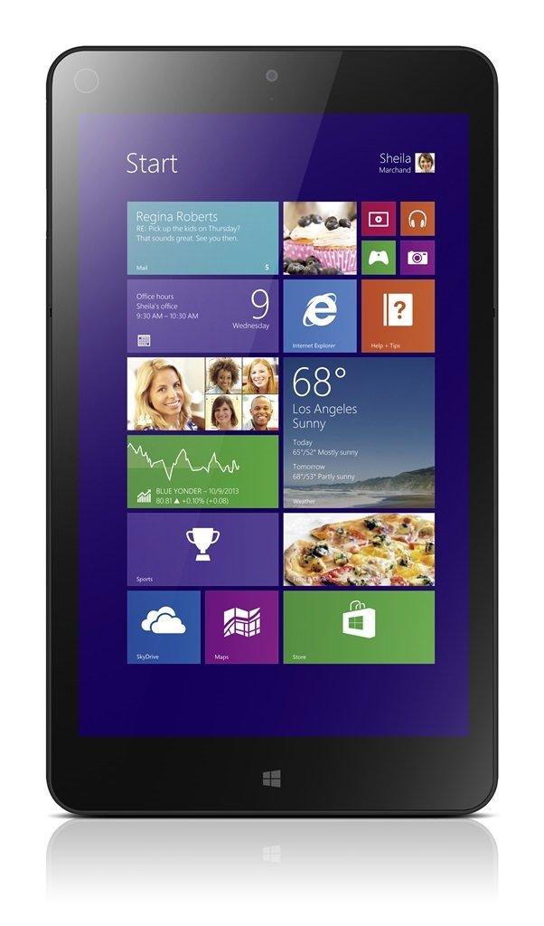 Emlakçılara özel tablet: Lenovo ThinkPad Tablet 8