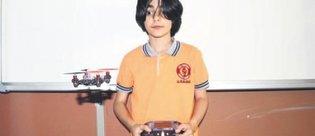 Ortaokul öğrencisi 'bomba bulan casus drone' geliştirdi