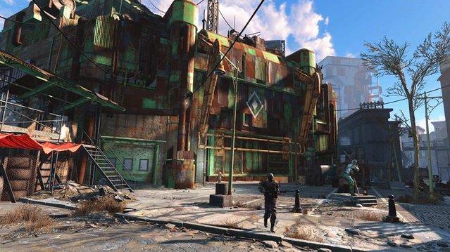 Fallout 4'ün ilk ekran görüntüleri