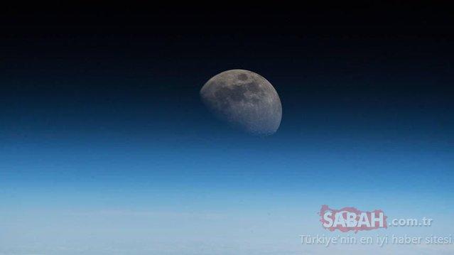 Ay'ın uzaydan çekilmiş müthiş fotoğrafı paylaşıldı