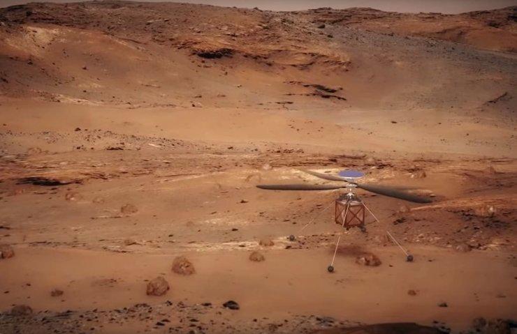 NASA, MARS'A HELİKOPTER GÖTÜRÜYOR