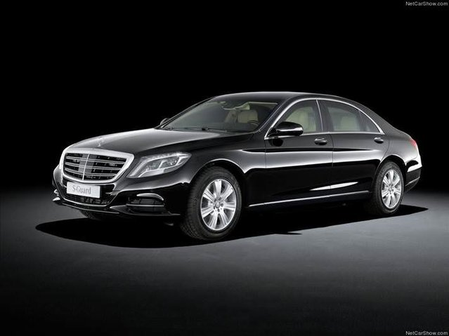 Tank kadar sağlam araba: Mercedes-Benz S600 Guard