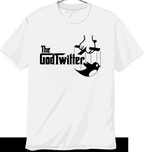 Twitter'a özel tişörtler