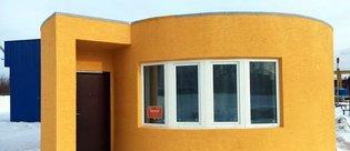 3D yazıcıyla 24 saatte yapılan ev!