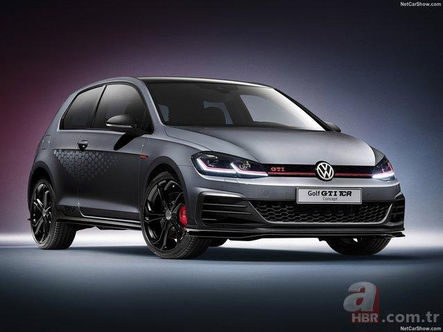 2018 Volkswagen Golf GTI TCR Concept karşınızda