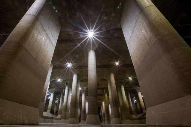 Tokyo'daki dünyanın en büyük yeraltı su deposu ile tanışın