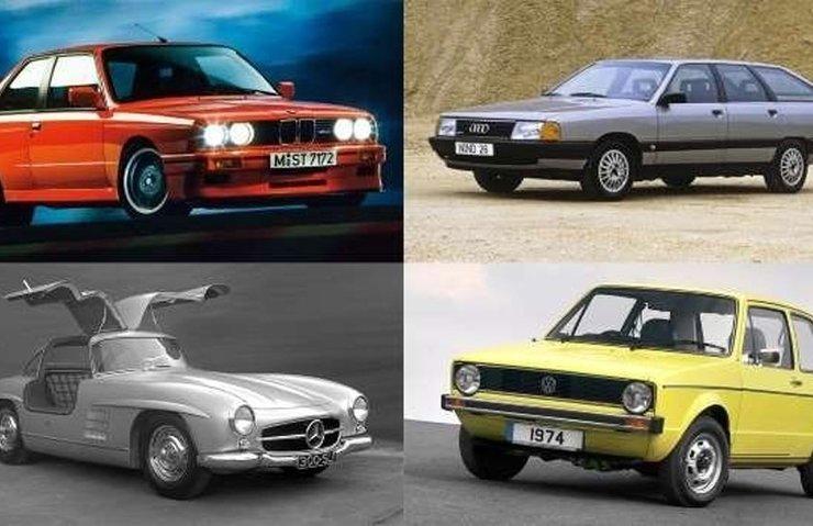Tarihin en iyi 100 Alman otomobil modeli!