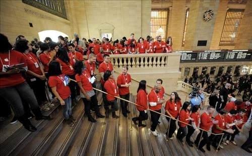Dünyanın en büyük Apple mağazası: Grand Central