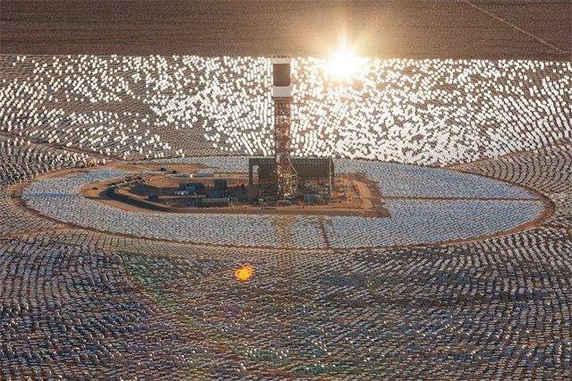 İşte dünyanın en büyük güneş enerji sistemi