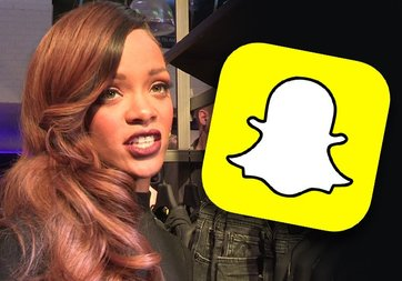 Snapchat'e bir darbe de Rihanna'dan geldi