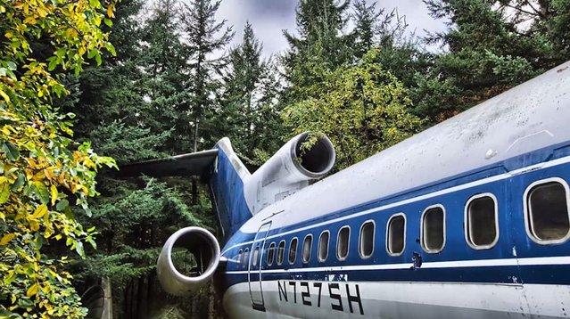 Boeing 727'yi evi yaptı
