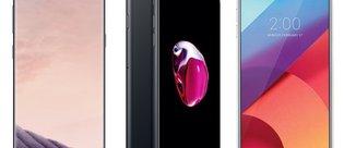Galaxy S8, iPhone 7 ve LG G6 karşı karşıya!