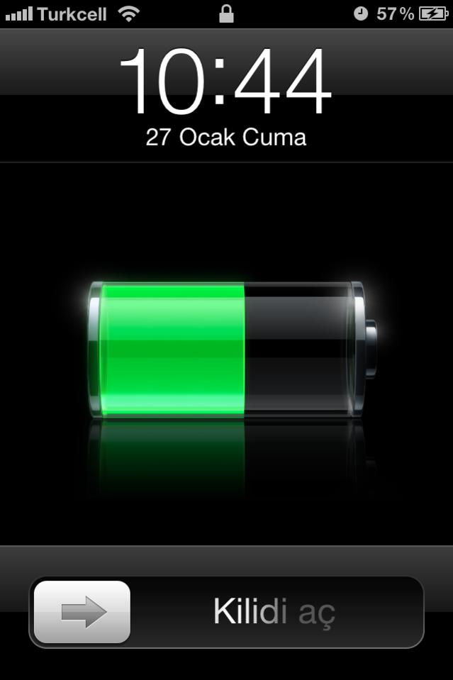 iPhone 4 ve 4S pil ömrünü artırın