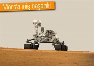 MARS'A İNİŞ BAŞARILI! İŞTE İLK RESİMLER!