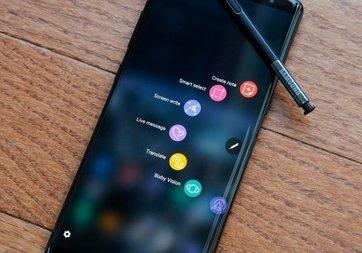 Galaxy Note 8 için Android 8.0 Oreo göründü!