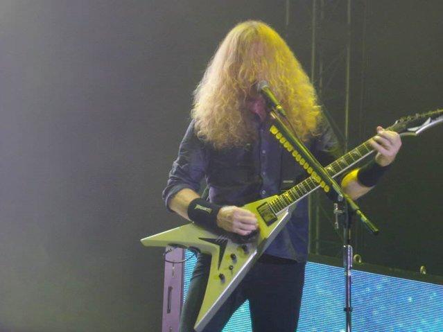 İstanbul'da Megadeth fırtınası esti. Akustik de dahil