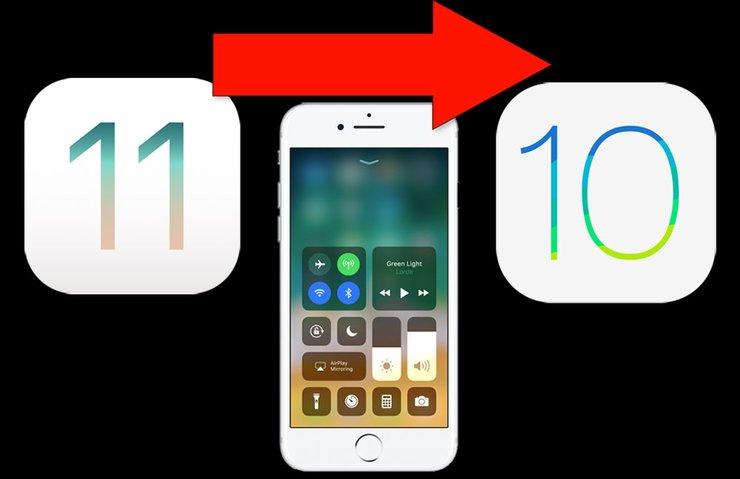 iOS 11'den iOS 10 geri dönüş rehberi! iOS 10 nasıl geri yüklenir?