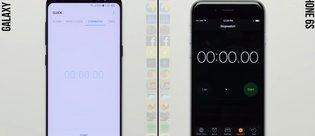 Samsung Galaxy S8 ve iPhone 6s hız testinde